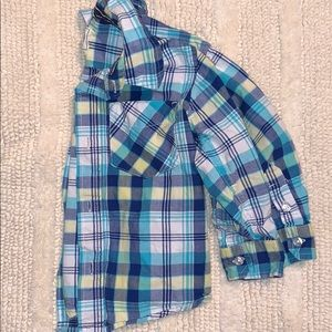 Children's place button down shirt